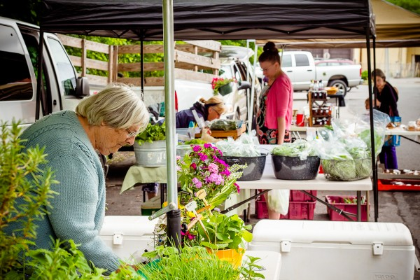 Guaranteed local at the Bellefonte Grower's Farmers Market