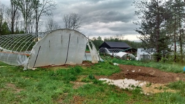Clan Stewart Farm hit hard by Monday's storms; how you can help them recover