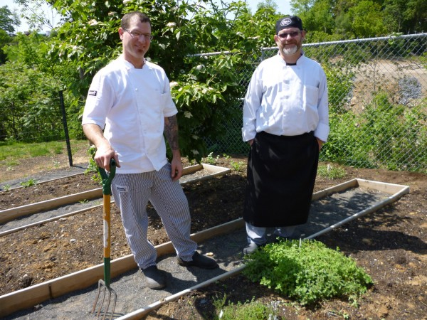 Otto's spring/summer menu includes food grown in on-site garden