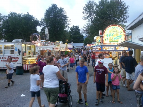 A visit to the Grange Fair, and the connection to local food