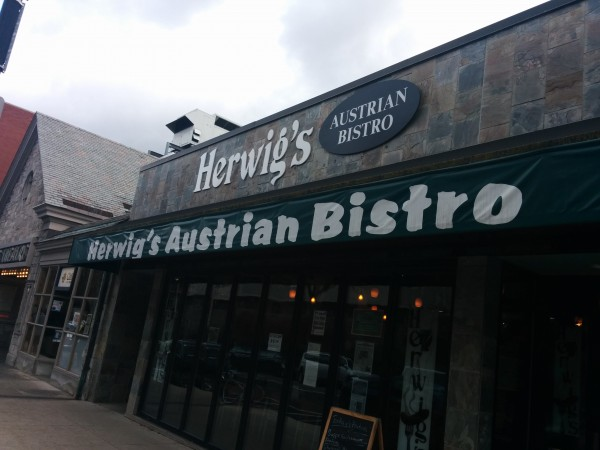 Herwig's: Incredible Austrian food served in an even-more incredible atmosphere
