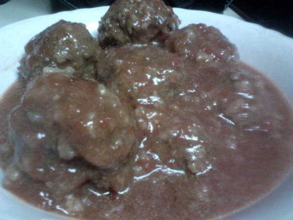 Local Food Recipe: Porcupine meatballs