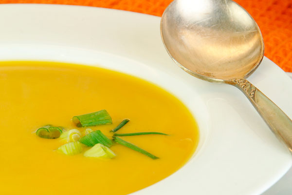 Roasted Butternut Squash Bisque from Harrison's