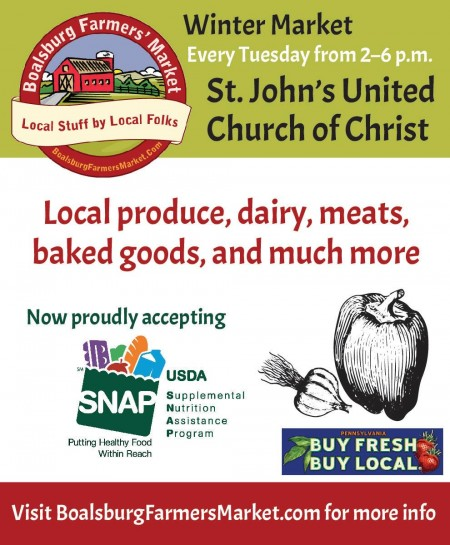 Boalsburg Farmers Market now accepts SNAP benefits