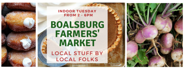 Get ready for Thanksgiving today at the Boalsburg Farmers Market