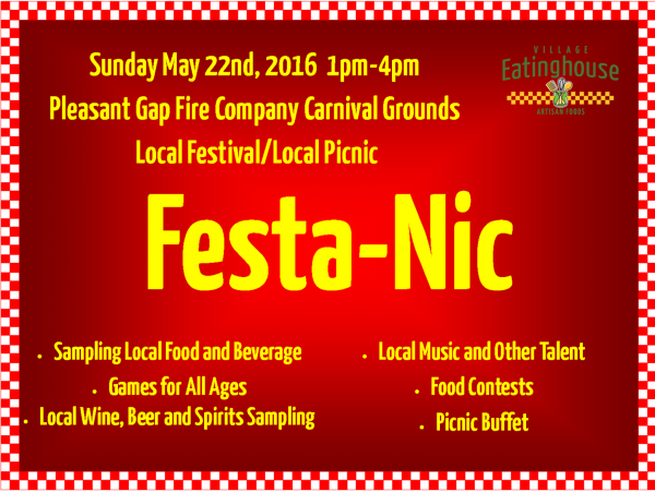Festa-Nic—A Central Pa Food & Beverage Party