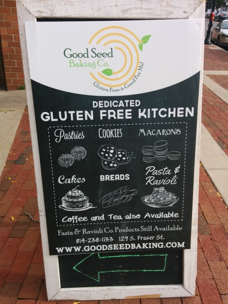 Bakery focuses on gluten-free options for desserts, pasta