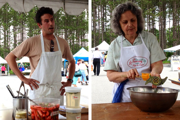 The Learning Kitchen at the Boalsburg Farmers' Market