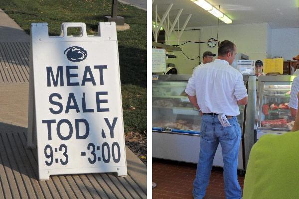 Penn State Meat Sale
