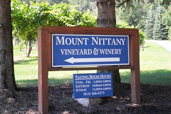 Wine and cheese tastings, every Saturday in June at Mount Nittany Vineyard and Winery