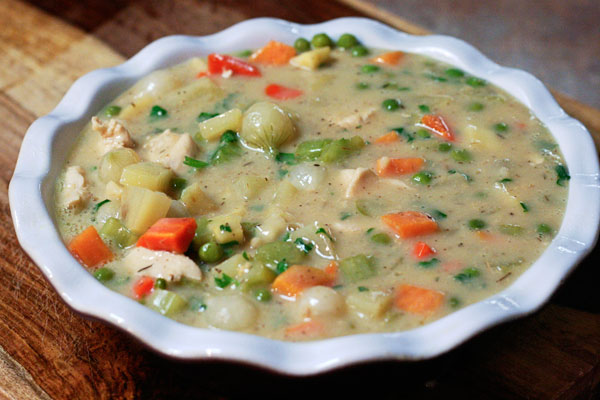 Chicken Pot Pie with Root Vegetables