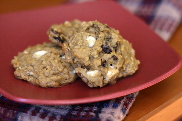 December Cookies: Pumpkin Oatmeal Cookies