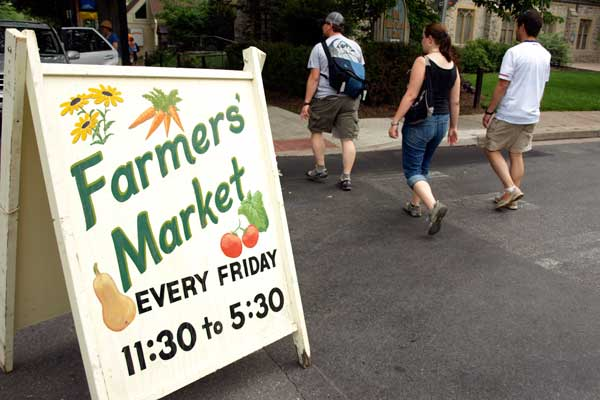 Visit the State College Farmers Market