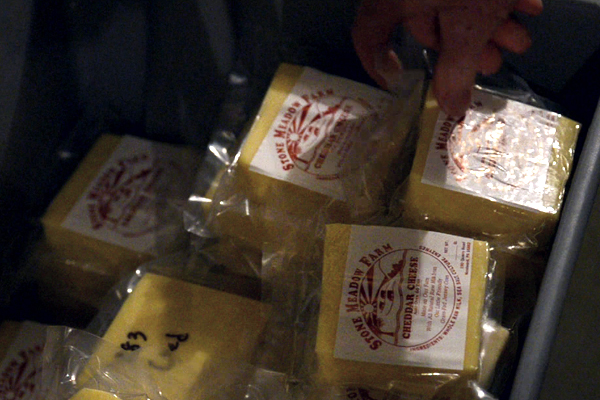 Local Food Video: Stone Meadow Farm cheese