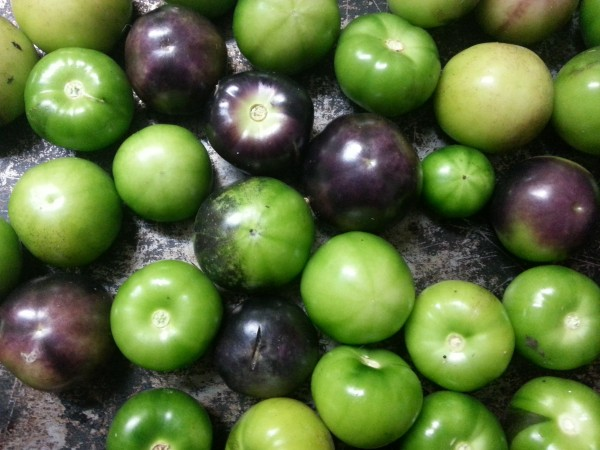 Recipe: Roasted tomatillo salsa verde