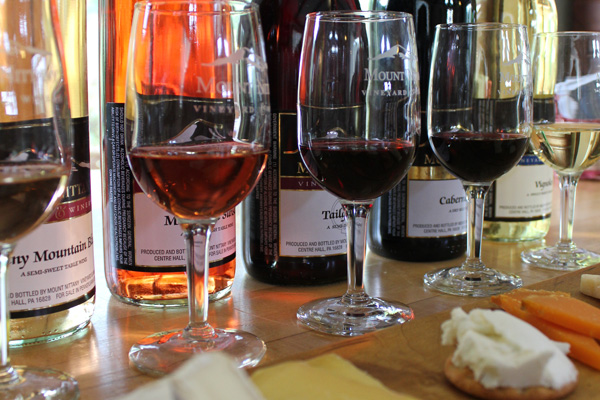 Nouveau Weekends on the Susquehanna Heartland Wine Trail