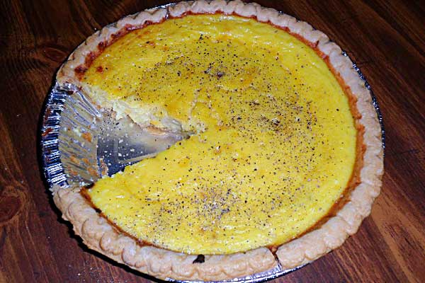 Winter Squash Quiche