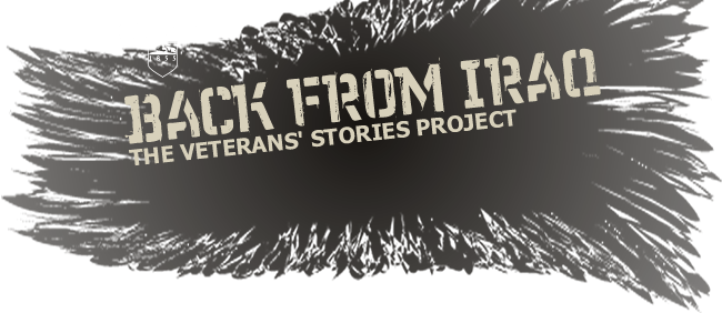 Back from Iraq: The Veterans' Stories Project